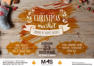 Open Day and Christmas Market @ Madrid Active School