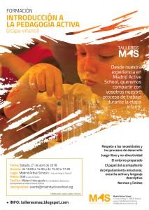 Introducción a la pedagogía activa - etapa infantil @ Madrid Active School