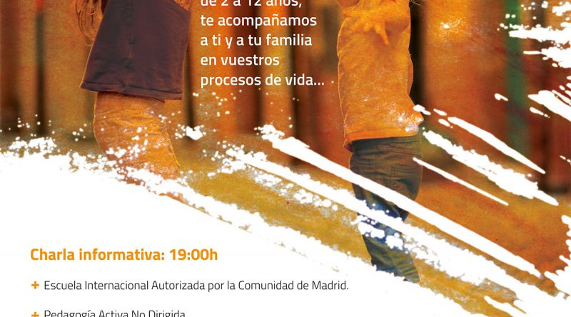 Madrid Active School. Open Day March, the 19th, 2020.